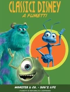 Copertina CLASSICI DISNEY A FUMETTI n.15 - Monster & Co - A Bugs Life, L'ESPRESSO