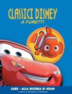 Copertina CLASSICI DISNEY A FUMETTI n.5 - Cars - Alla ricerca di Nemo, L'ESPRESSO
