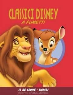 Copertina CLASSICI DISNEY A FUMETTI n.3 - Il Re Leone - Bambi, L'ESPRESSO