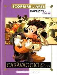 Copertina SCOPRIRE L'ARTE n.10 - Caravaggio - L'età barocca, L'ESPRESSO