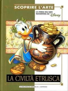 Copertina SCOPRIRE L'ARTE n.3 - La civiltà etrusca, L'ESPRESSO