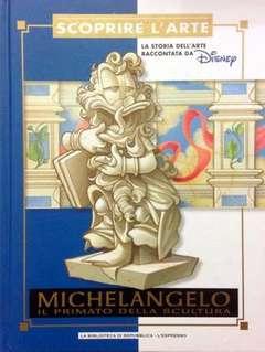 Copertina SCOPRIRE L'ARTE n.8 - Michelangelo - Il primato della scultura, L'ESPRESSO