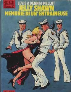 Copertina ALBI DI ORIENT EXPRESS n.20 - MEMORIE DI UN'ENTRAINEUSE, L'ISOLA TROVATA