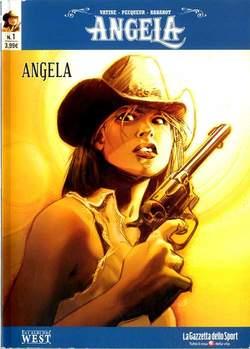 Copertina ANGELA n.1 - ANGELA, LA GAZZETTA DELLO SPORT