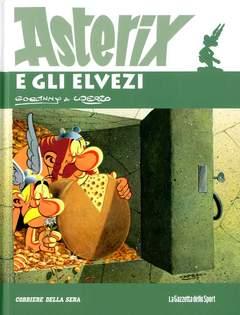 Copertina ASTERIX n.8 - ASTERIX E GLI ELVEZI, LA GAZZETTA DELLO SPORT