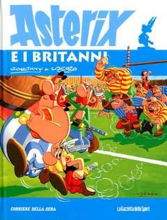 Copertina ASTERIX n.9 - ASTERIX E I BRITANNI, LA GAZZETTA DELLO SPORT