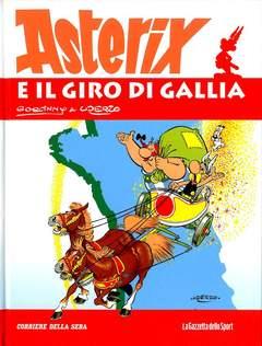 Copertina ASTERIX n.2 - ASTERIX E IL GIRO DI GALLIA, LA GAZZETTA DELLO SPORT