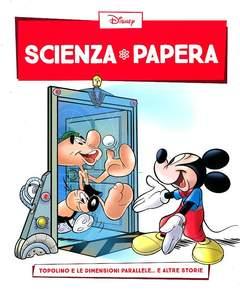Copertina SCIENZA PAPERA n.10 - Topolino e le dimensioni parallele  e altre storie, LA GAZZETTA DELLO SPORT