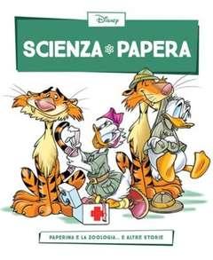 Copertina SCIENZA PAPERA n.16 - Paperina e la zoologia  e altre storie, LA GAZZETTA DELLO SPORT