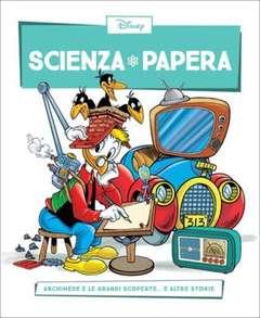 Copertina SCIENZA PAPERA n.24 - Archimede e le grandi scoperte  e altre storie, LA GAZZETTA DELLO SPORT