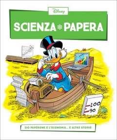 Copertina SCIENZA PAPERA n.26 - Zio Paperone e l'economia  e altre storie, LA GAZZETTA DELLO SPORT