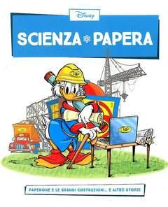 Copertina SCIENZA PAPERA n.8 - Paperone e le grandi costruzioni  e altre storie, LA GAZZETTA DELLO SPORT
