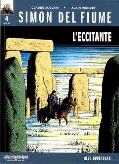 Copertina SIMON DEL FIUME n.4 - L'ECCITANTE, LA GAZZETTA DELLO SPORT