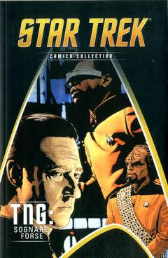 Copertina STAR TREK COMICS COLLECTION n.33 - TNG: SOGNARE FORSE, LA GAZZETTA DELLO SPORT