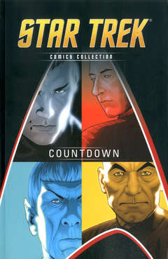 Copertina STAR TREK COMICS COLLECTION n.1 - COUNTDOWN, LA GAZZETTA DELLO SPORT