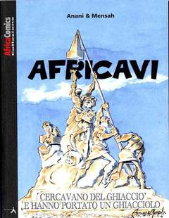 Copertina AFRICAVI n. - AFRICA COMICS COLLEZIONE, LAI MOMO