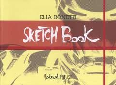 Copertina SKETCHBOOK n.3 - ELIA BONETTI, LATERAL PUBLISH