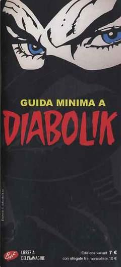Copertina DIABOLIK GUIDA MINIMA n.2 - Edizione Variant, LIBRERIA DELL'IMMAGINE