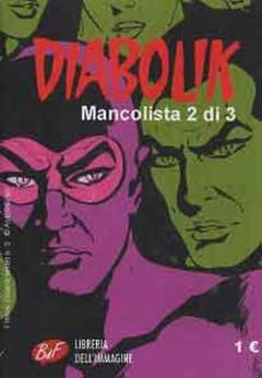 Copertina DIABOLIK MANCOLISTA (m3) n.2 - DIABOLIK MANCOLISTA, LIBRERIA DELL'IMMAGINE