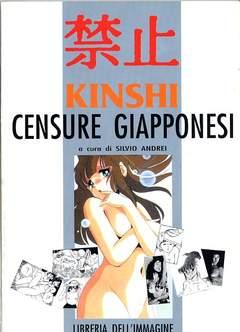 Copertina KINSHI CENSURE GIAPPONESI n. - KINSHI, CENSURE GIAPPONESI, LIBRERIA DELL'IMMAGINE