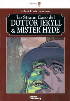Copertina STRANO CASO DR.JEKILL MR.HYDE n. - STRANO CASO DEL DOTTOR JEKYLL E MISTER HYDE, LIBRI SCUOLA DEL FUMETTO