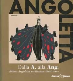 Copertina ANGOLETTA Deluxe n. - DALLA A ALLA ANG, LITTLE NEMO