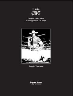 Copertina PORTFOLIO IL MIO TEX CIVITELLI n.1 - 3 Tavole numerate e firmate (150 esemplari), LITTLE NEMO