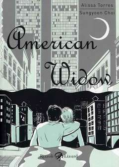 Copertina AMERICAN WIDOW n. - AMERICAN WIDOW, LIZARD RIZZOLI