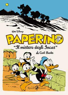Copertina CARL BARKS collezione n.1 - PAPERINO - IL MISTERO DEGLI INCAS - (1948-49), LIZARD RIZZOLI