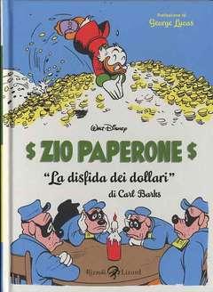 Copertina CARL BARKS collezione n.2 - ZIO PAPERONE - LA DISFIDA DEI DOLLARI, LIZARD RIZZOLI
