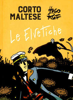 Copertina CORTO MALTESE Nuova Edizione n.11 - LE ELVETICHE, LIZARD RIZZOLI