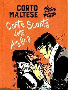 Copertina CORTO MALTESE Nuova Edizione n.6 - CORTE SCONTA DETTA ARCANA, LIZARD RIZZOLI