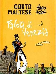 Copertina CORTO MALTESE Nuova Edizione n.7 - FAVOLA DI VENEZIA, LIZARD RIZZOLI