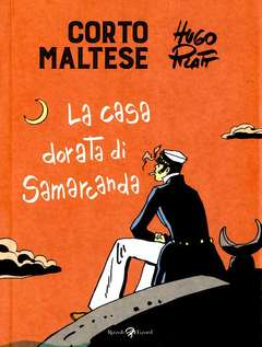 Copertina CORTO MALTESE Nuova Edizione n.8 - LA CASA DORATA DI SAMARCANDA, LIZARD RIZZOLI