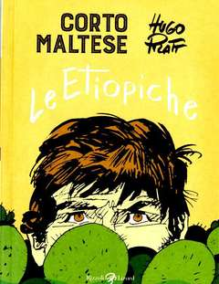 Copertina CORTO MALTESE Nuova Edizione n.5 - LE ETIOPICHE, LIZARD RIZZOLI