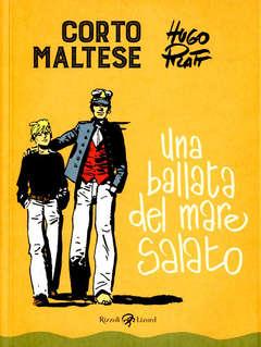 Copertina CORTO MALTESE Nuova Edizione n.1 - UNA BALLATA DEL MARE SALATO, LIZARD RIZZOLI