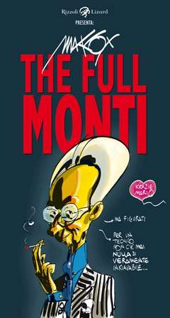 Copertina FULL MONTI n. - THE FULL MONTI, LIZARD RIZZOLI