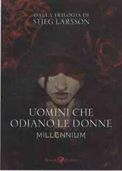 Copertina MILLENNIUM n.1 - UOMINI CHE ODIANO LE DONNE, LIZARD RIZZOLI