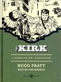 Copertina SGT. KIRK (m5) n.2 - L'ASSALTO DEI COMANCHE, LIZARD RIZZOLI