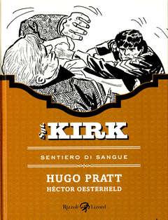 Copertina SGT. KIRK (m5) n.5 - SENTIERO DI SANGUE, LIZARD RIZZOLI