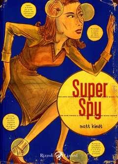 Copertina SUPER SPY n. - SUPERSPY, LIZARD RIZZOLI