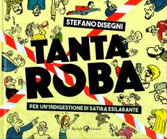 Copertina TANTA ROBA n. - PER UN'INDIGESTIONE DI SATIRA ESILARANTE, LIZARD RIZZOLI