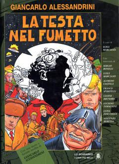 Copertina ALESSANDRINI TESTA NEL FUMETTO n.2 - CARTONATO, LO SCARABEO