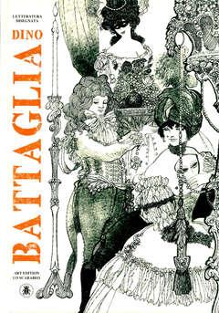 Copertina DINO BATTAGLIA LETTERATURA... n. - LETTERATURA DISEGNATA, LO SCARABEO