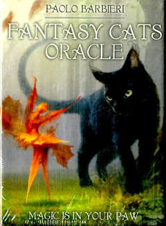 Copertina FANTASY CATS ORACLE n. - FANTASY CATS ORACLE, LO SCARABEO