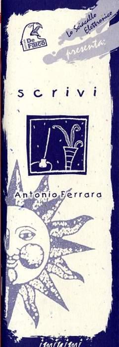 Copertina MINIMI n.6 - SCRIVERE, LO SCIACALLO EDITORE