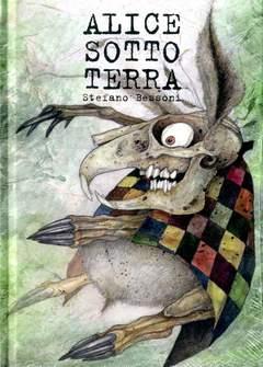 Copertina #ILLUSTRATI n. - ALICE SOTTO TERRA, LOGOS