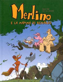 Copertina MERLINO n.4 - MERLINO E LA MAMMA DI RENARDO, LOGOS