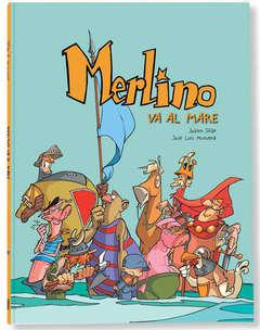 Copertina MERLINO n.3 - MERLINO VA AL MARE, LOGOS