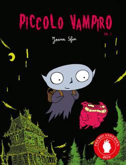 Copertina PICCOLO VAMPIRO Ristampa n.1 - PICCOLO VAMPIRO - Ristampa, LOGOS